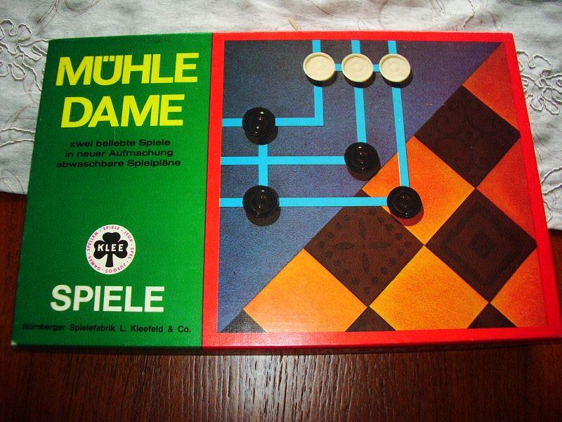 Mühle & Dame  Klee