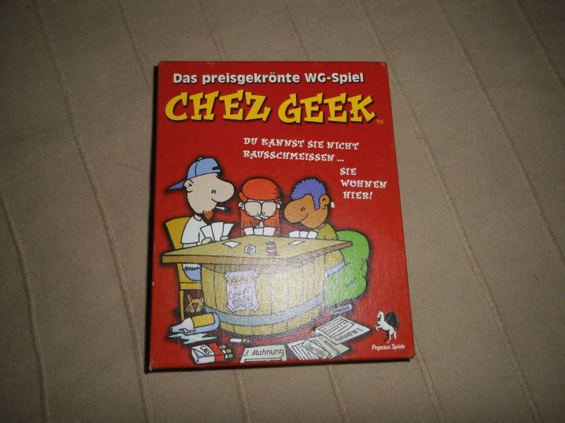 Chez Geek - Pegasus Spiele