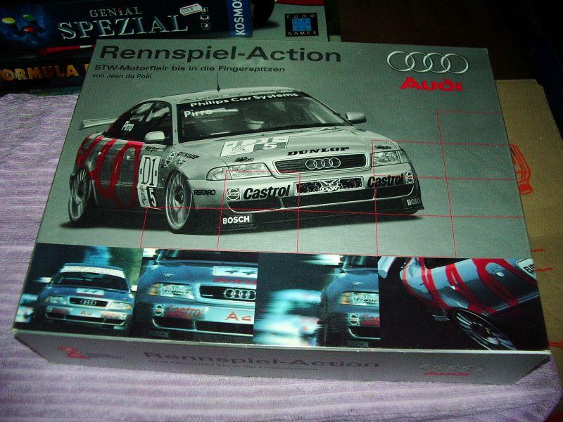 Carabande Audi-Edition Goldsieber