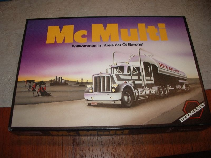 McMulti - Hexagames - Grosse Schachtel