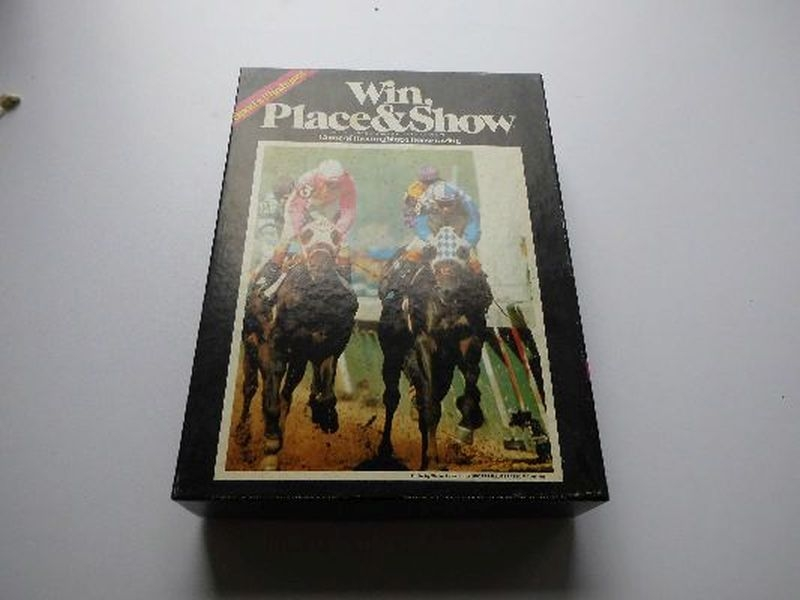 Win Place and Show - Avalon Hill