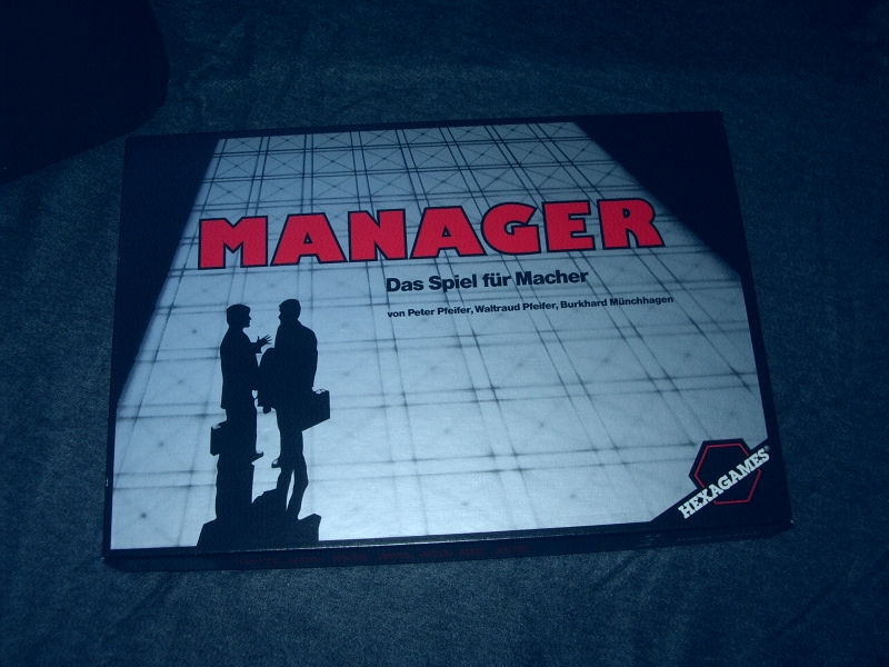 Manager - Hexagames
