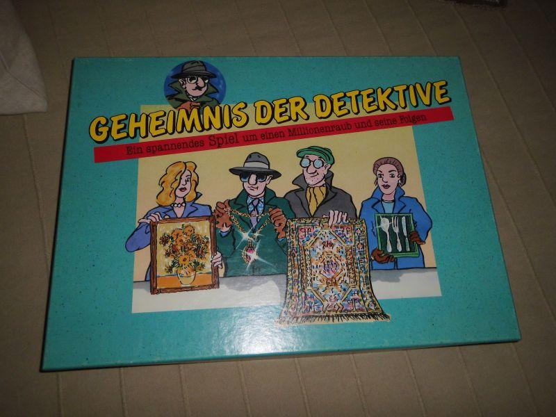 Geheimnis der Detektive - Ein spannendes Spiel um einen Millionenraub