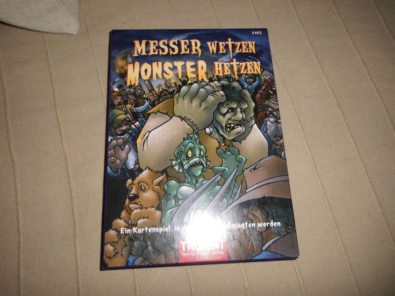 Messer wetzen Monster hetzen - Ungespielt - Truant