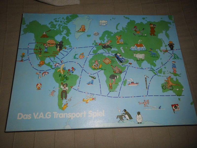 Das V.A.G. Transportspiel - Werbespiel von V.A.G.