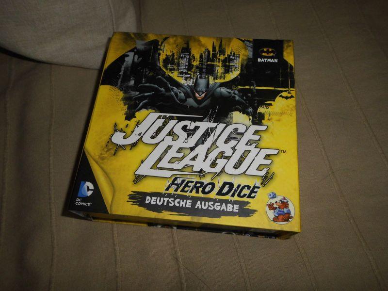 Justice League - Hero Dice - gelb - Asmodee - Heidelberger