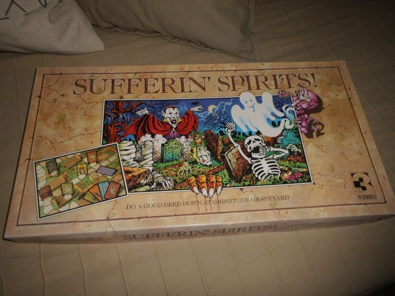 Sufferin Spirits - 3Wishes Games - englisch