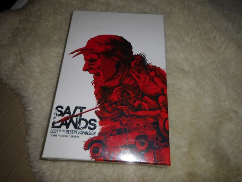 Saltlands - Erweiterung: Desert Expansion - Folie - Antler Games