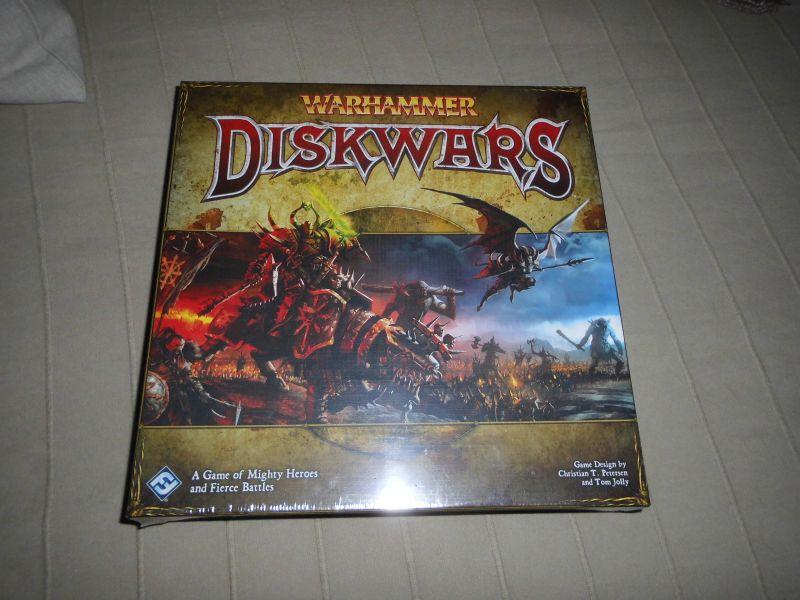 Warhammer Diskwars - Folie - englisch - FFG