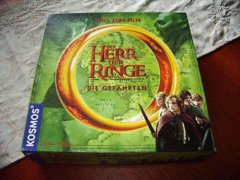 Herr der Ringe - Die Gefährten - Spiel zum Film - Kosmos
