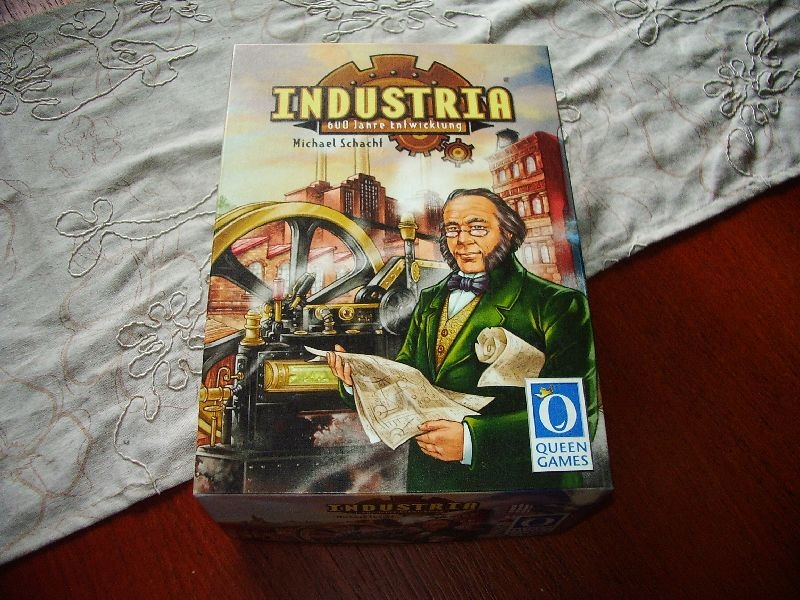 Industria - Michael Schacht - Queen Games