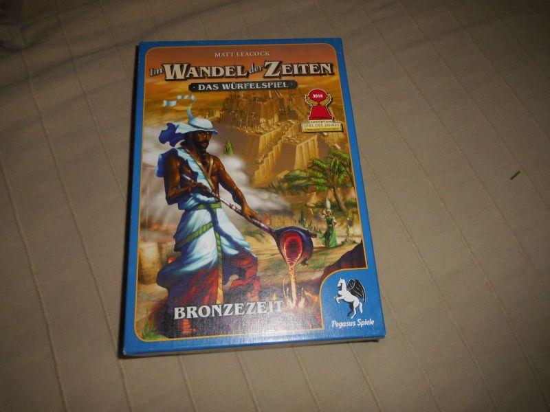 Im Wandel der Zeiten das Würfelspiel Bronzezeit Pegasus