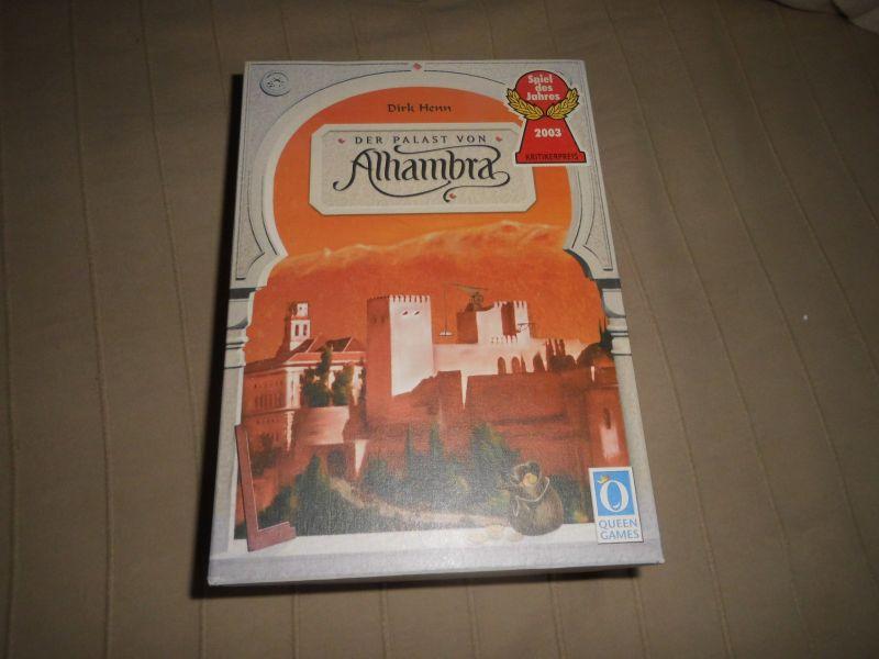 Der Palast von Alhambra – Queen Games