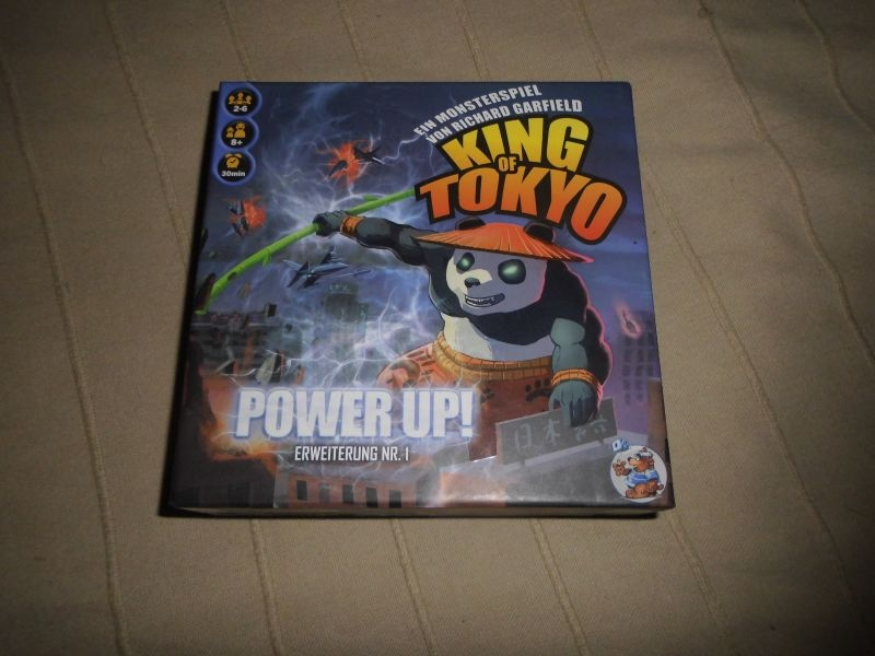 King of Tokyo Power Up 1.Erweiterung Heidelberger