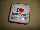 I love Broccoli Das Spiel der kleinen Enthüllungen Metalschachtel